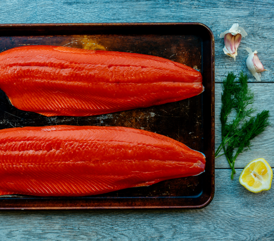 If you've got an oven and a baking dish or sheet pan, then you're all set to create this basic baked salmon recipe and master how to roast salmon!