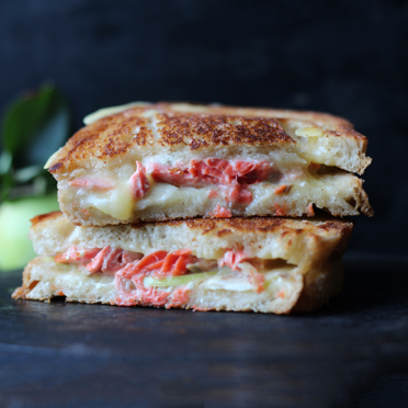 Salmon Grilled Cheese recipe