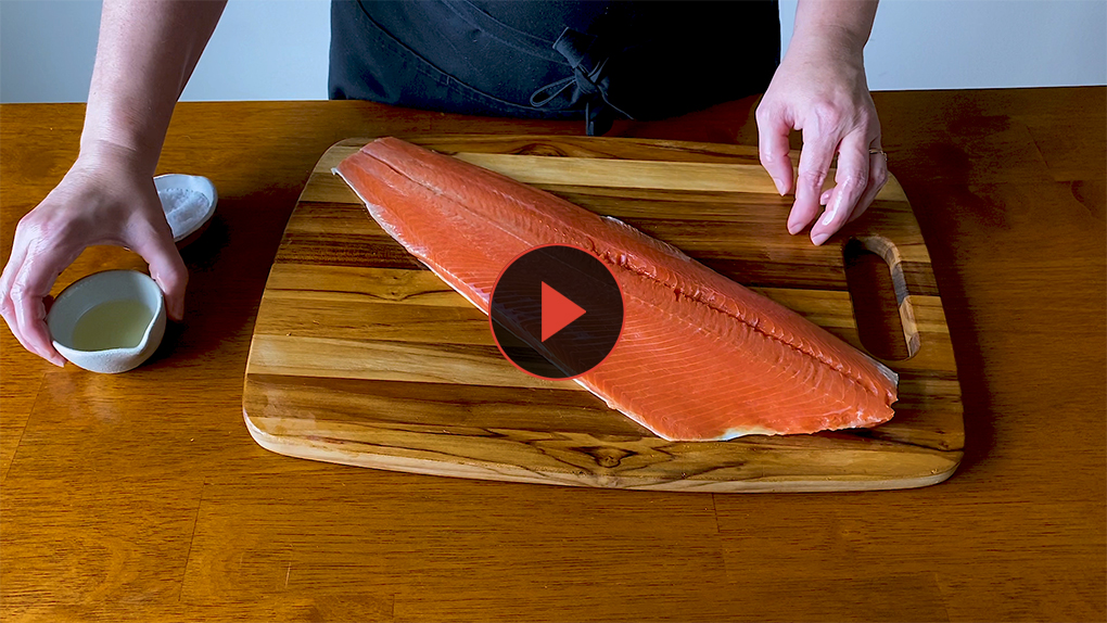 """Roasted or baked salmon has never been easier thanks to """"Alaska from Scratch"""" cookbook author and chef Maya Wilson."""