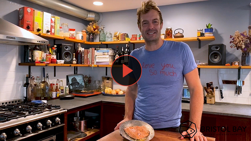 Award-winning chef Barton Seaver teaches a simple method for baked salmon. The secret is low and slow.