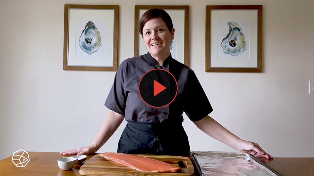 """How do you tell when salmon is done? What does opaque salmon look like? Learn these expert tips from """"Alaska from Scratch"""" cookbook author and chefMaya Wilson."""